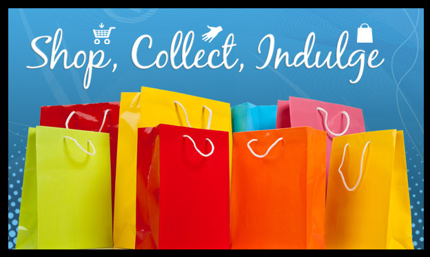 Shop, Collect, Indulge