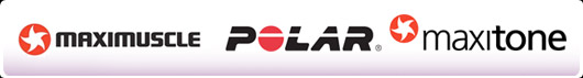 Maximuscle, Polar, Maxitone logo