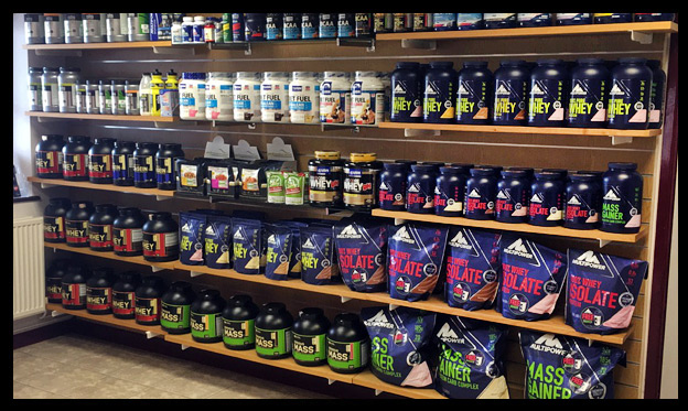 Alpine Health Club Supplement Store